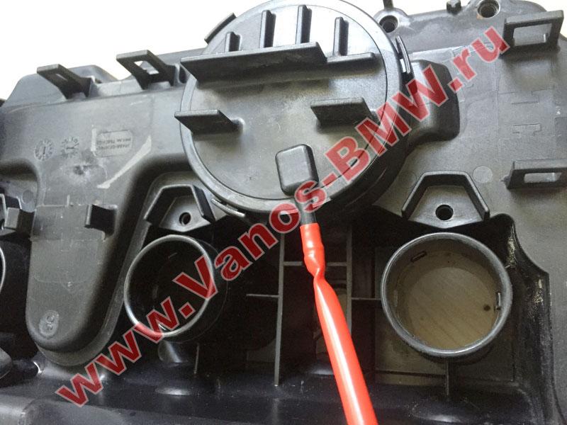 Мембрана КВКГ двигатель N51, N52, N52N, N52K (клапан встроен в крышку двигателя) 11127552281 BMW  N52-002
