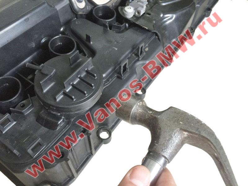Мембрана КВКГ двигатель N51, N52, N52N, N52K (клапан встроен в крышку двигателя) 11127552281 BMW  N52-004