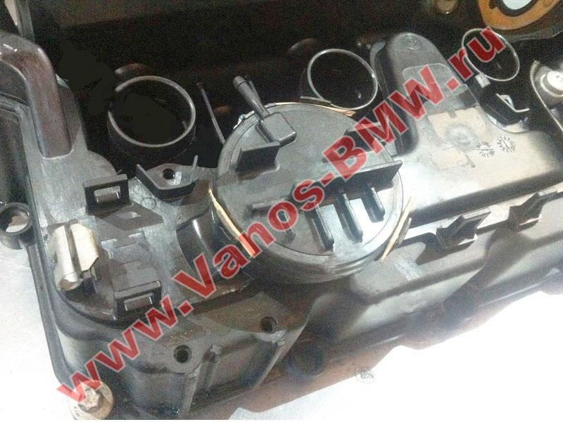 Мембрана КВКГ двигатель N51, N52, N52N, N52K (клапан встроен в крышку двигателя) 11127552281 BMW  N52-005+
