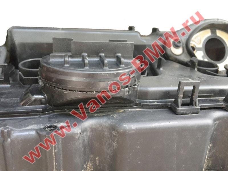 Мембрана КВКГ двигатель N51, N52, N52N, N52K (клапан встроен в крышку двигателя) 11127552281 BMW  N52-005