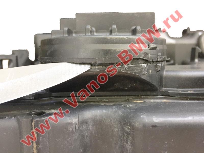Мембрана КВКГ двигатель N51, N52, N52N, N52K (клапан встроен в крышку двигателя) 11127552281 BMW  N52-007