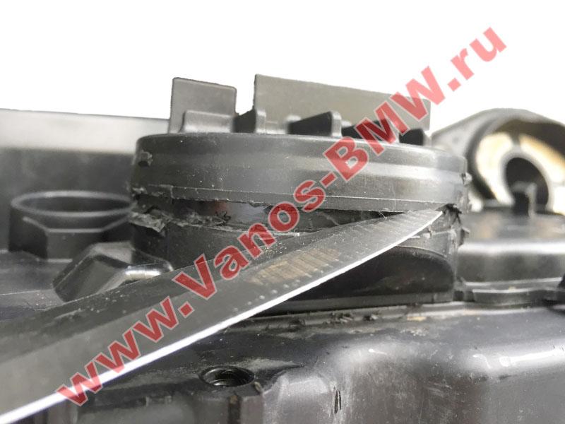 Мембрана КВКГ двигатель N51, N52, N52N, N52K (клапан встроен в крышку двигателя) 11127552281 BMW  N52-009