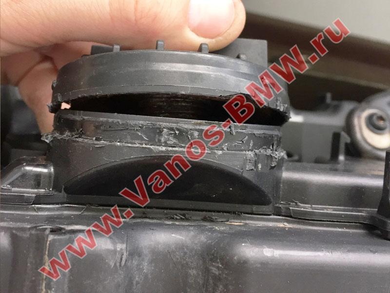Мембрана КВКГ двигатель N51, N52, N52N, N52K (клапан встроен в крышку двигателя) 11127552281 BMW  N52-010