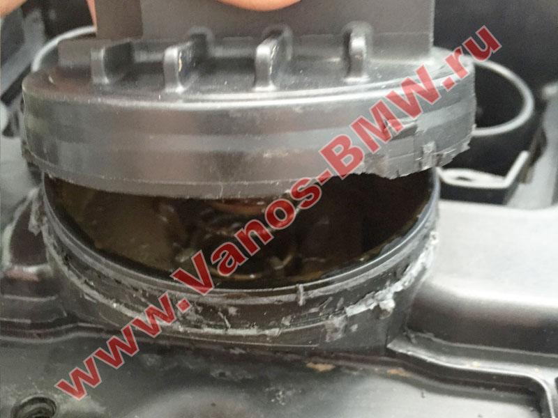 Мембрана КВКГ двигатель N51, N52, N52N, N52K (клапан встроен в крышку двигателя) 11127552281 BMW  N52-011