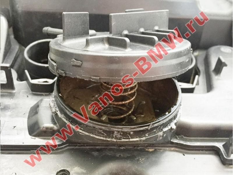 Мембрана КВКГ двигатель N51, N52, N52N, N52K (клапан встроен в крышку двигателя) 11127552281 BMW  N52-012