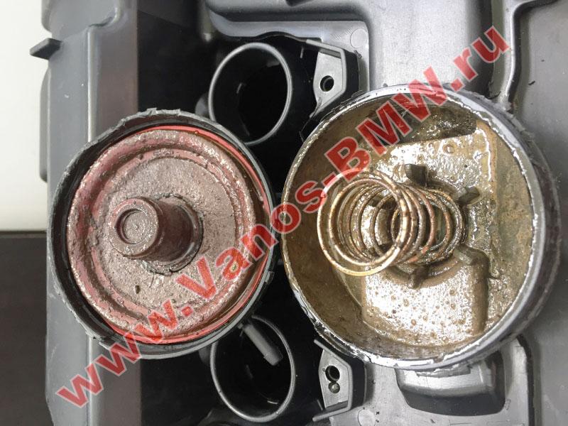 Мембрана КВКГ двигатель N51, N52, N52N, N52K (клапан встроен в крышку двигателя) 11127552281 BMW  N52-013