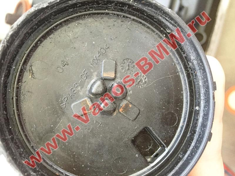 Мембрана КВКГ двигатель N51, N52, N52N, N52K (клапан встроен в крышку двигателя) 11127552281 BMW  N52-016
