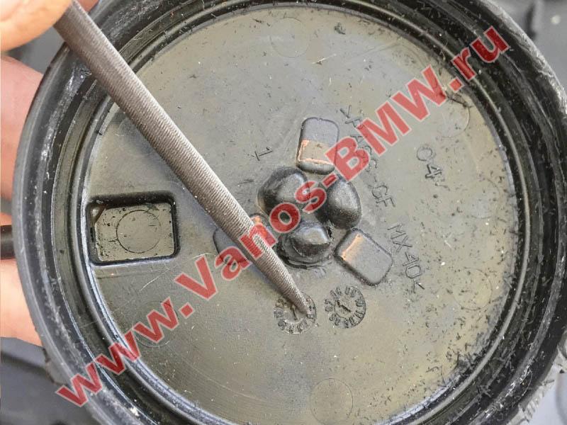 Мембрана КВКГ двигатель N51, N52, N52N, N52K (клапан встроен в крышку двигателя) 11127552281 BMW  N52-017